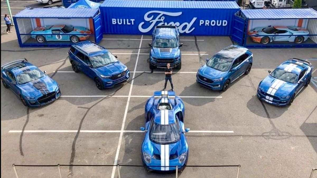 75 New Ford Performance Vehicles By 2020 Engine