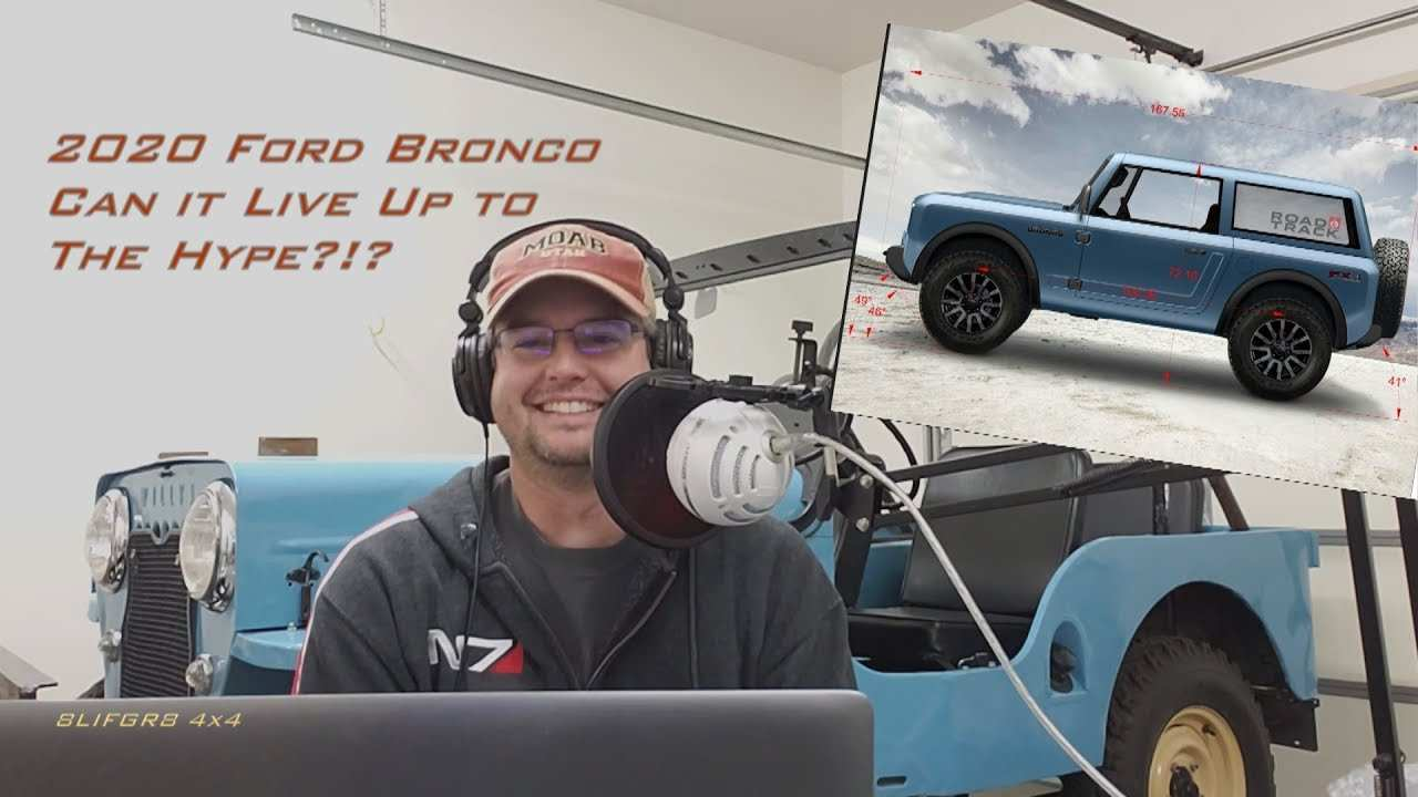 76 All New 2020 Ford Bronco Youtube First Drive