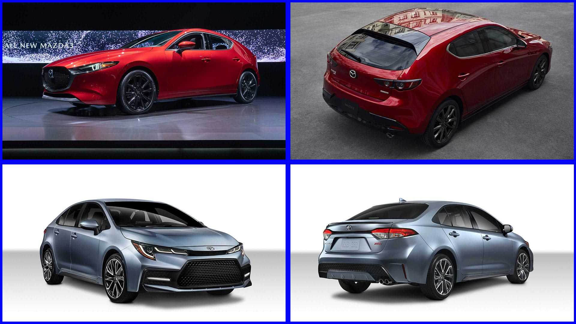 77 All New Corolla 2020 Vs Mazda 3 Speed Test
