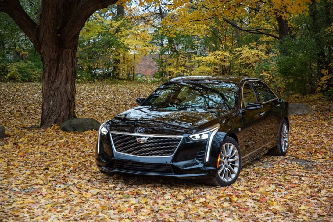 78 A 2019 Cadillac Lineup Spy Shoot