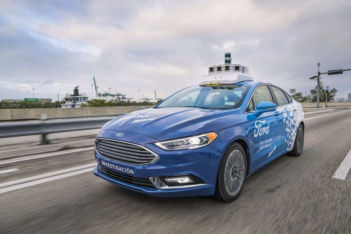 78 A Ford 2020 Driverless Overview