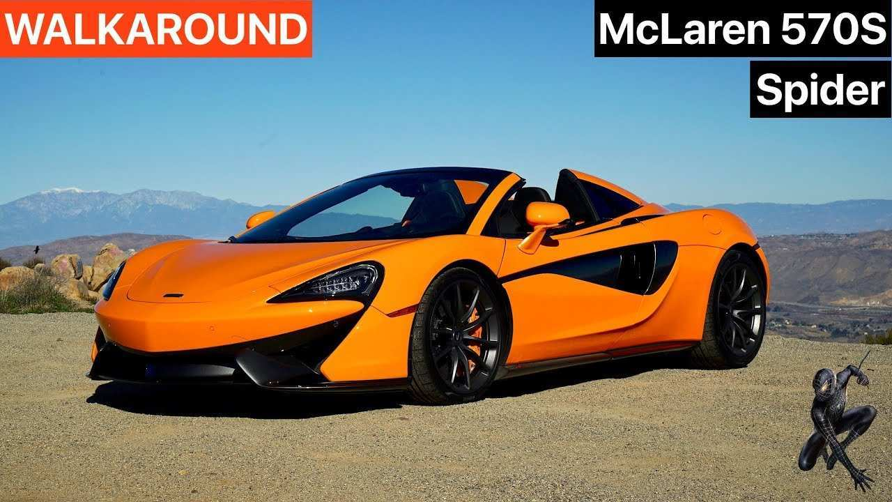 78 All New 2019 Mclaren 570S Spider Price And Review