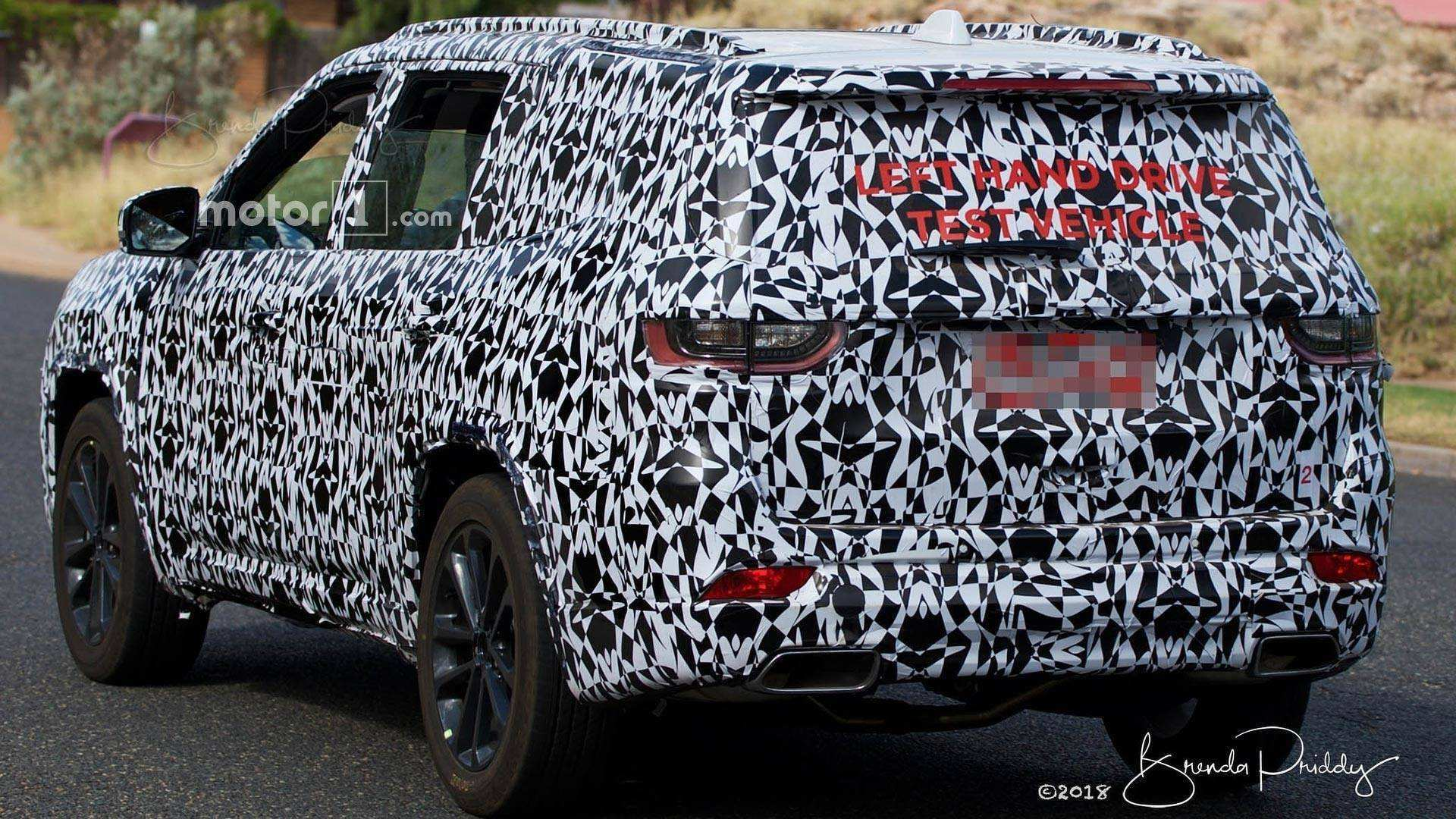 78 New 2020 Jeep Grand Cherokee Spy Photos Redesign And Concept