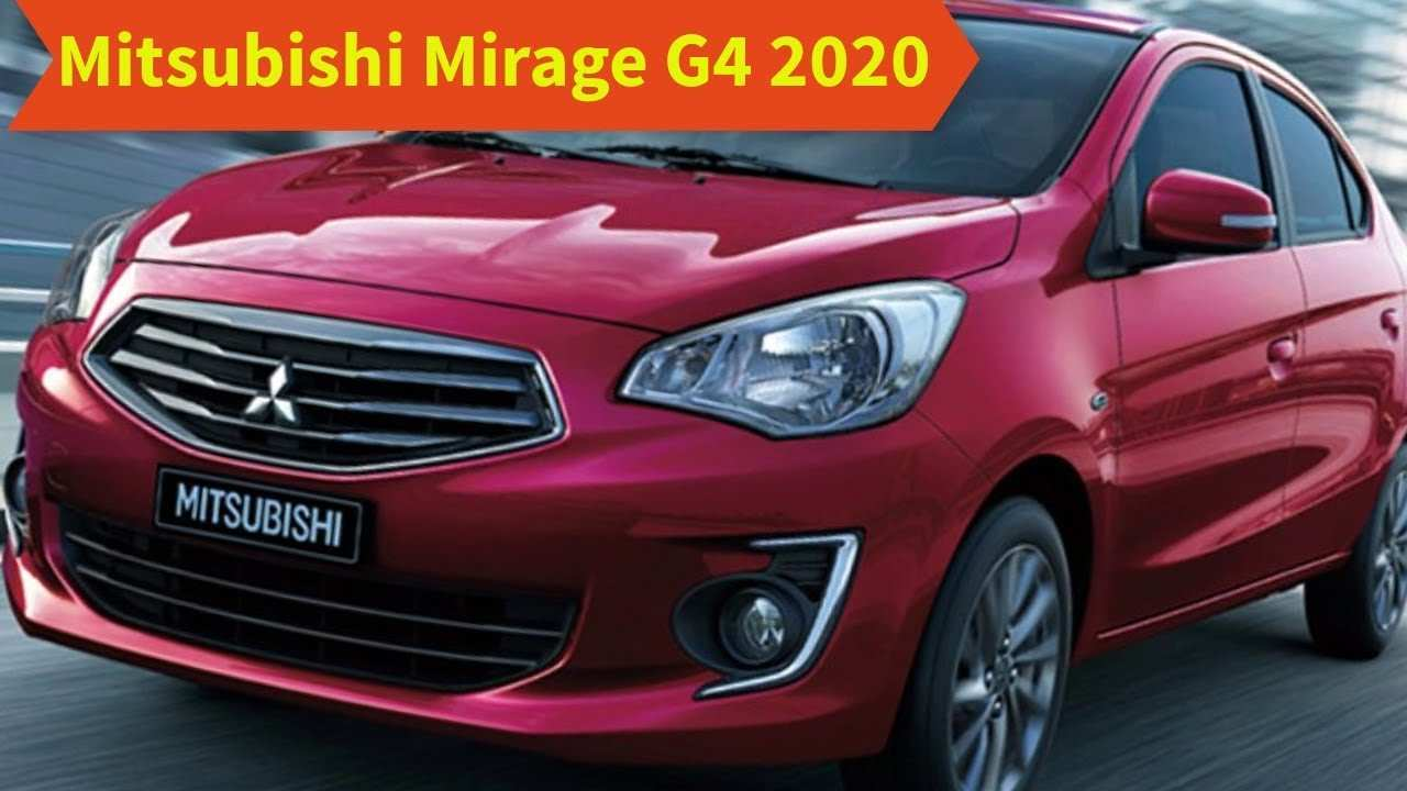 78 The Best New Mitsubishi Mirage 2020 Overview