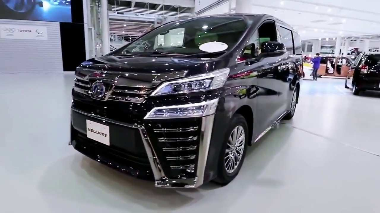 78 The Toyota Vellfire 2020 Review And Release Date
