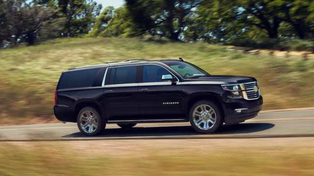 79 The Chevrolet Suburban 2020 Spy Shots Overview