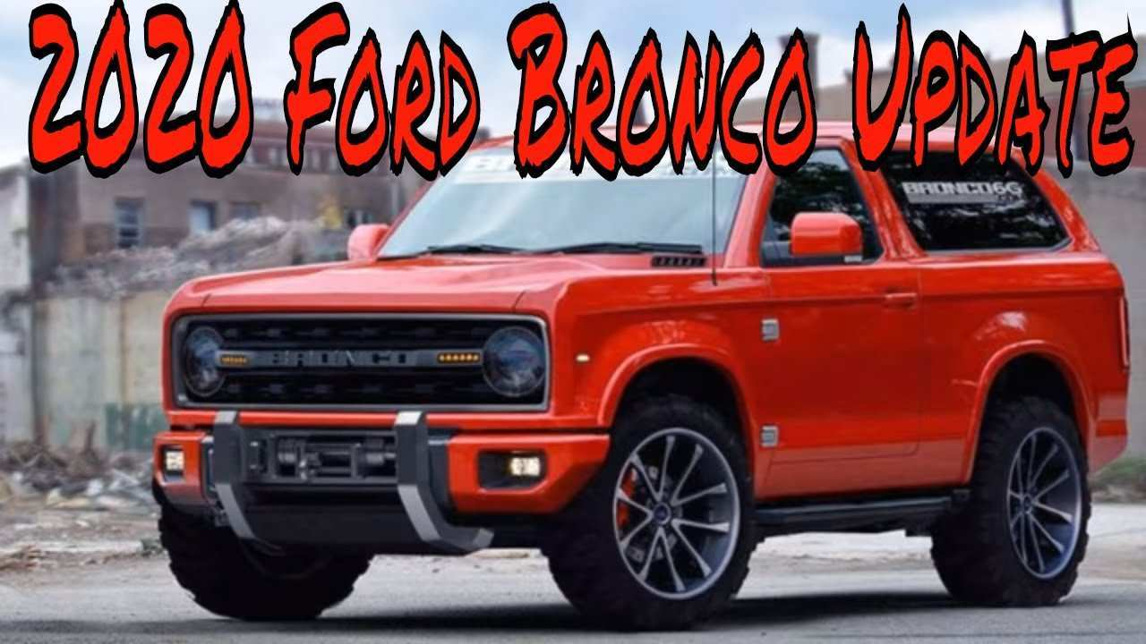 80 New 2020 Ford Bronco Youtube Picture