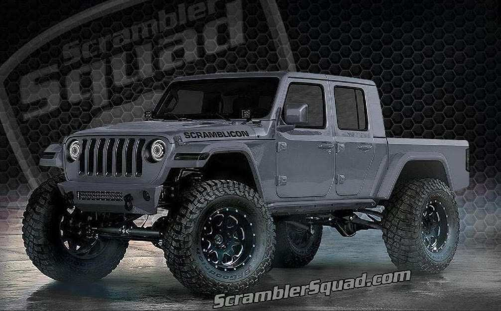 80 The 2020 Jeep Gladiator Lifted Engine