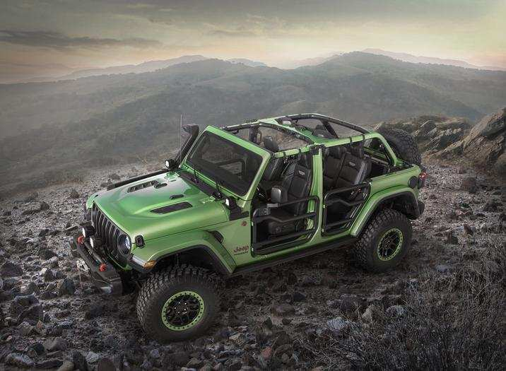 82 The 2020 Jeep Hybrid Interior