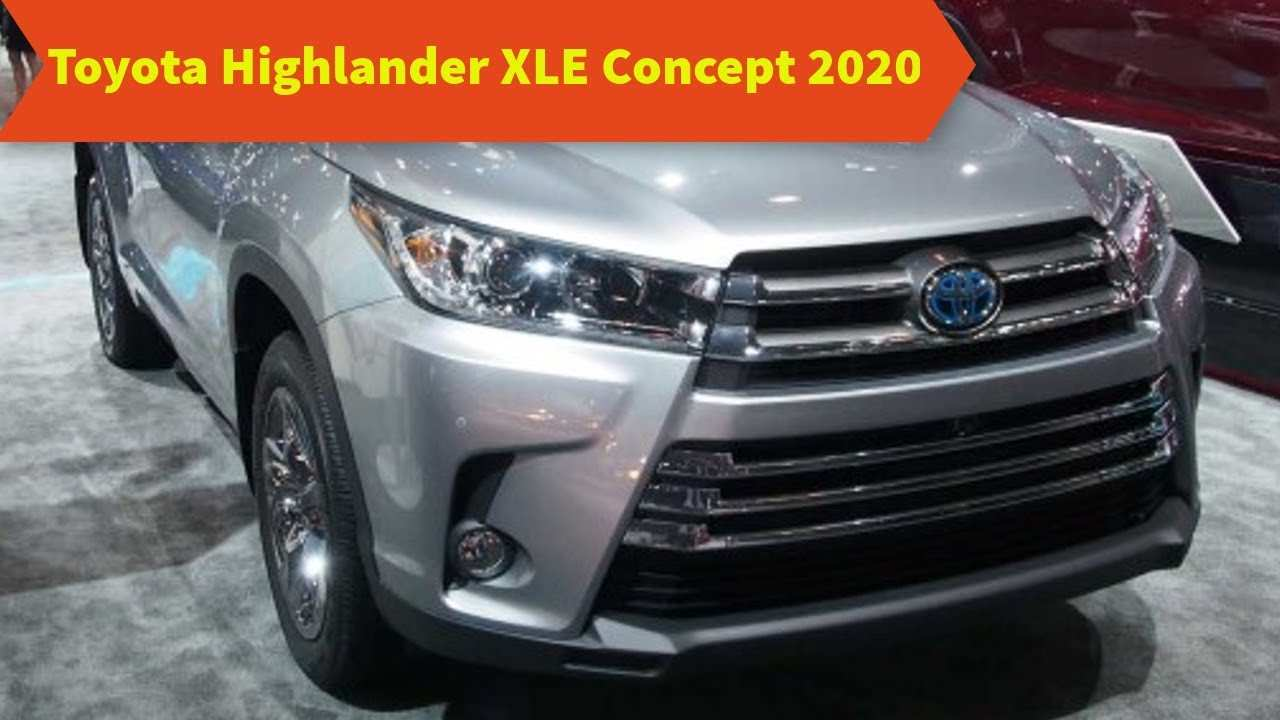83 All New 2020 Toyota Highlander Concept Review And Release Date