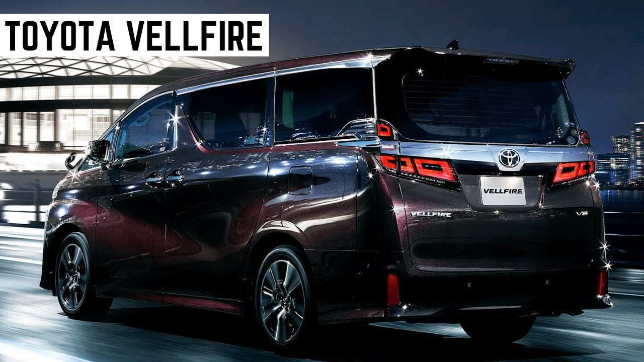 83 All New Toyota Vellfire 2020 History