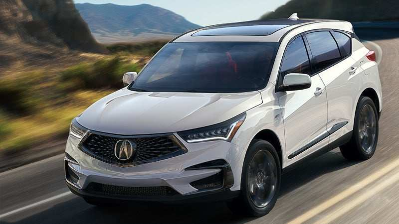 83 The 2019 Acura Rdx Preview First Drive