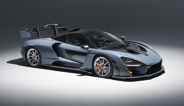 84 A 2019 Mclaren Spy Shoot