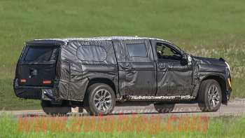 84 A Chevrolet Suburban 2020 Spy Shots First Drive
