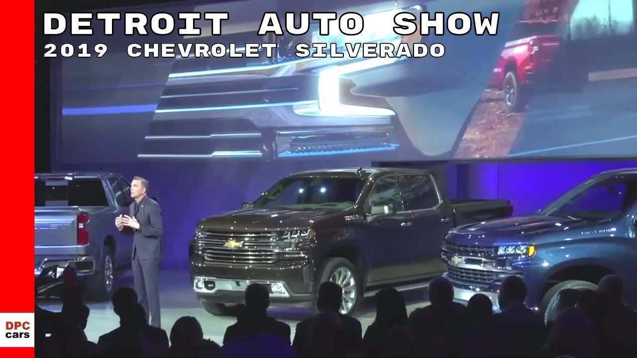 84 New 2019 Silverado Unveil Redesign And Concept