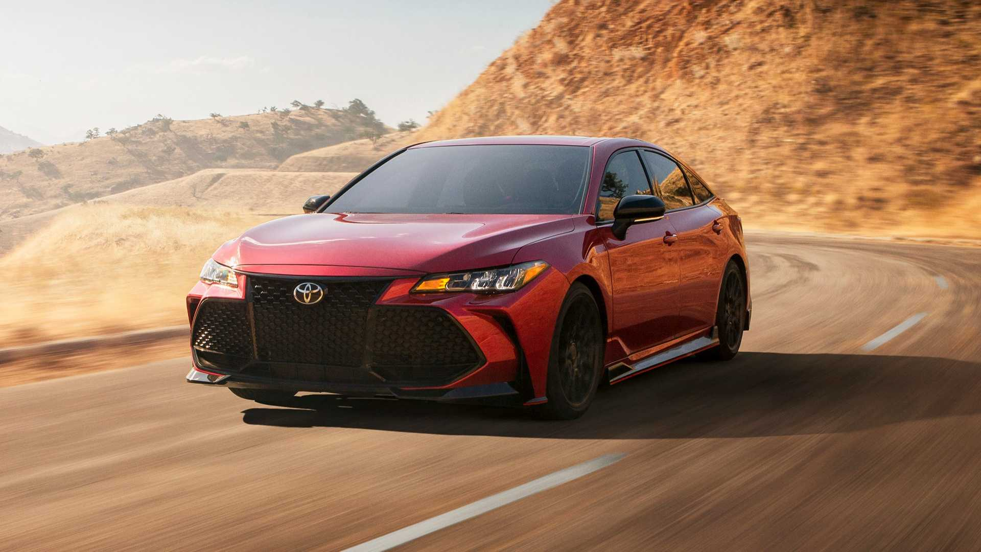 84 The 2020 Toyota Avalon Speed Test