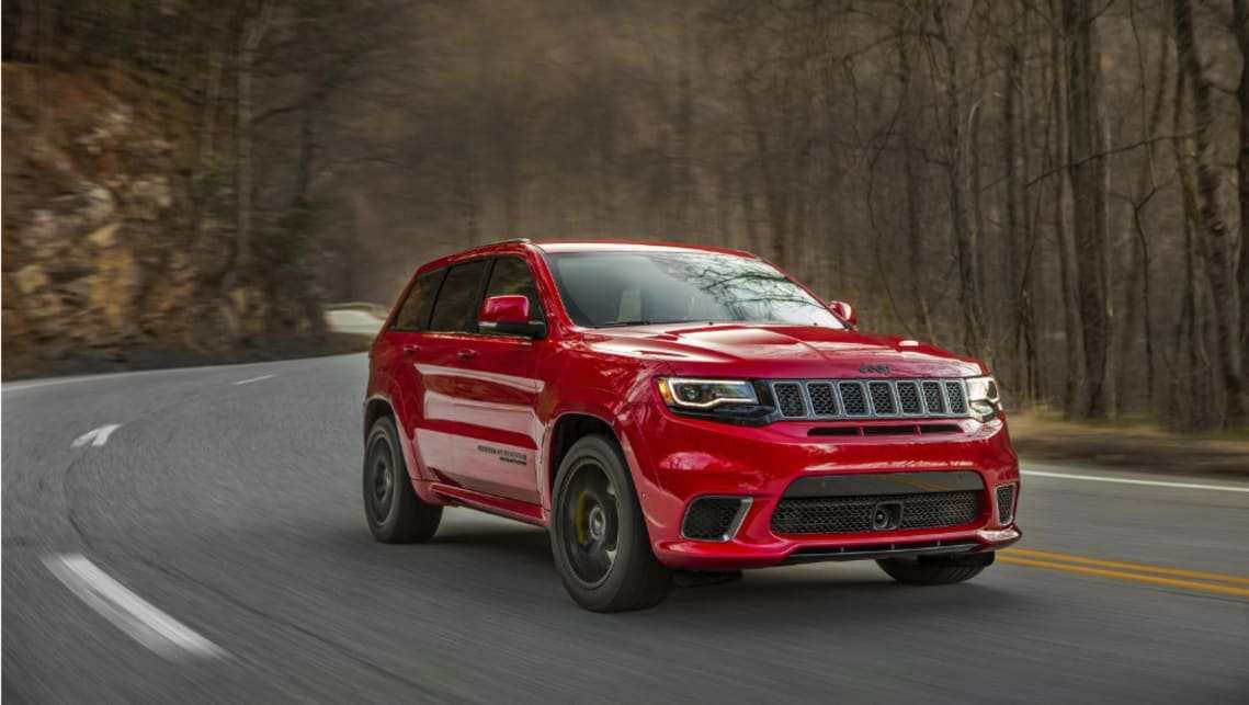 85 A 2020 Jeep Trackhawk Speed Test