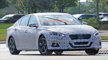 85 All New 2019 Nissan Altima Spy Shots Redesign And Review