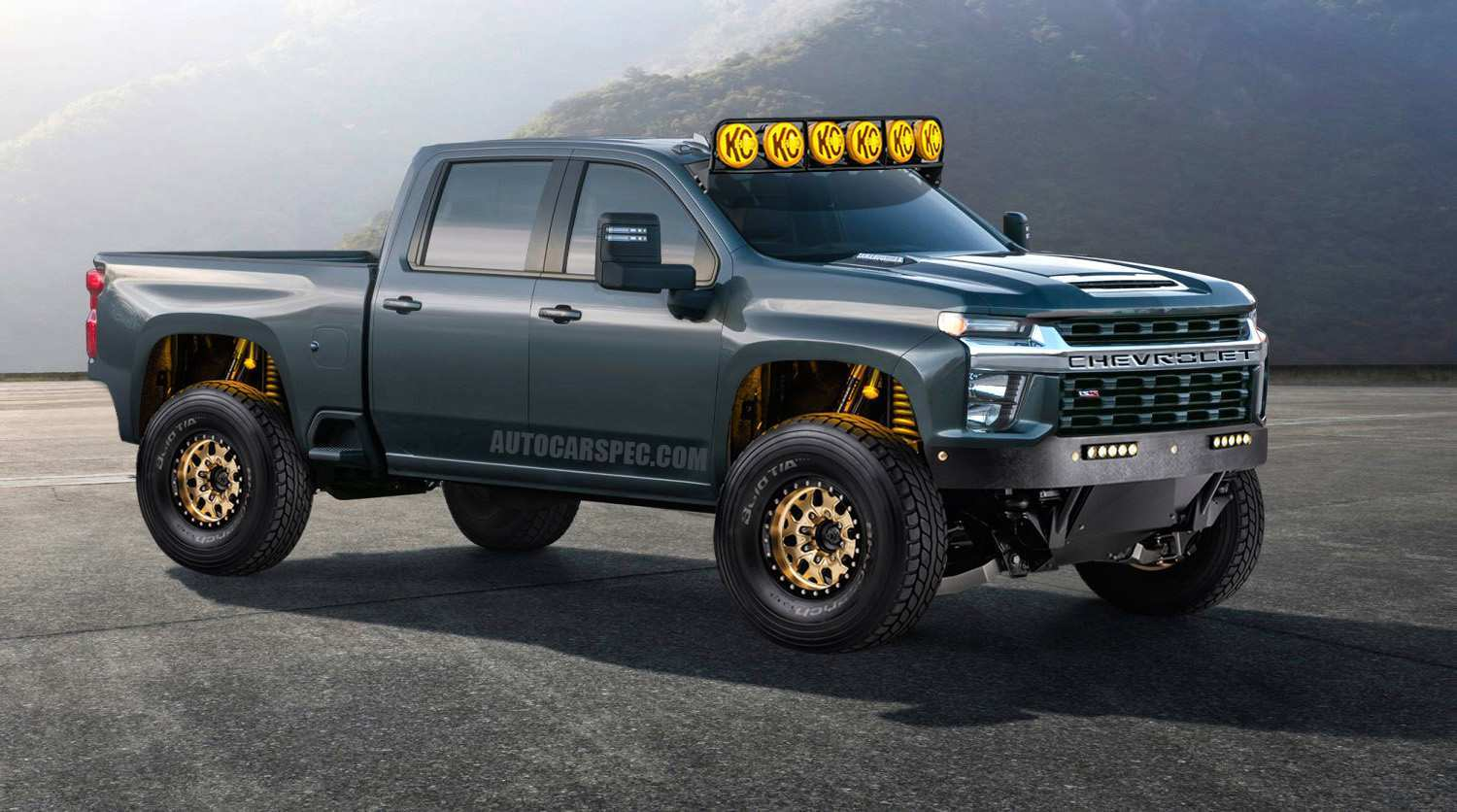 85 The Best Chevrolet Silverado 2020 Photoshop New Concept