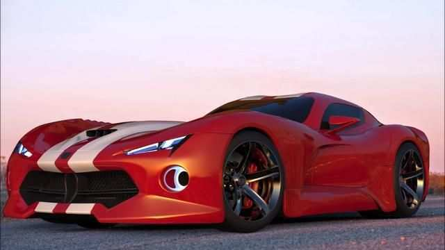 86 A 2020 Dodge Viper Concept Performance