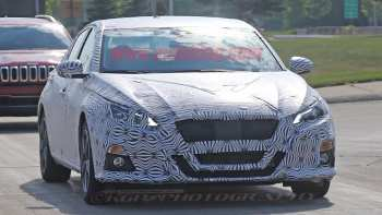 86 All New 2019 Nissan Altima Spy Shots Pictures