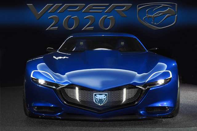 86 The Dodge Viper 2020 Engine