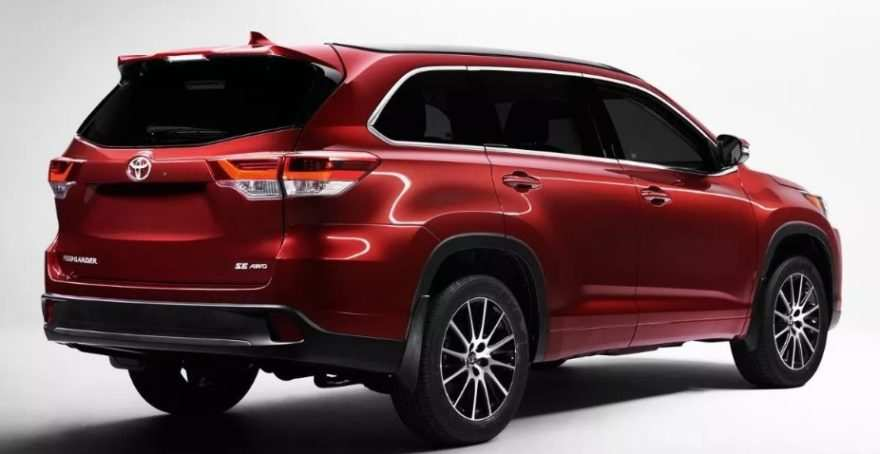 87 All New 2020 Toyota Highlander Concept Review And Release Date