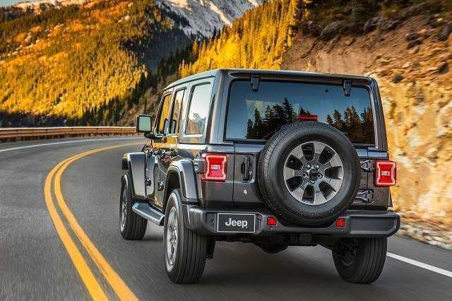 87 New Jeep Jl 2020 Spy Shoot