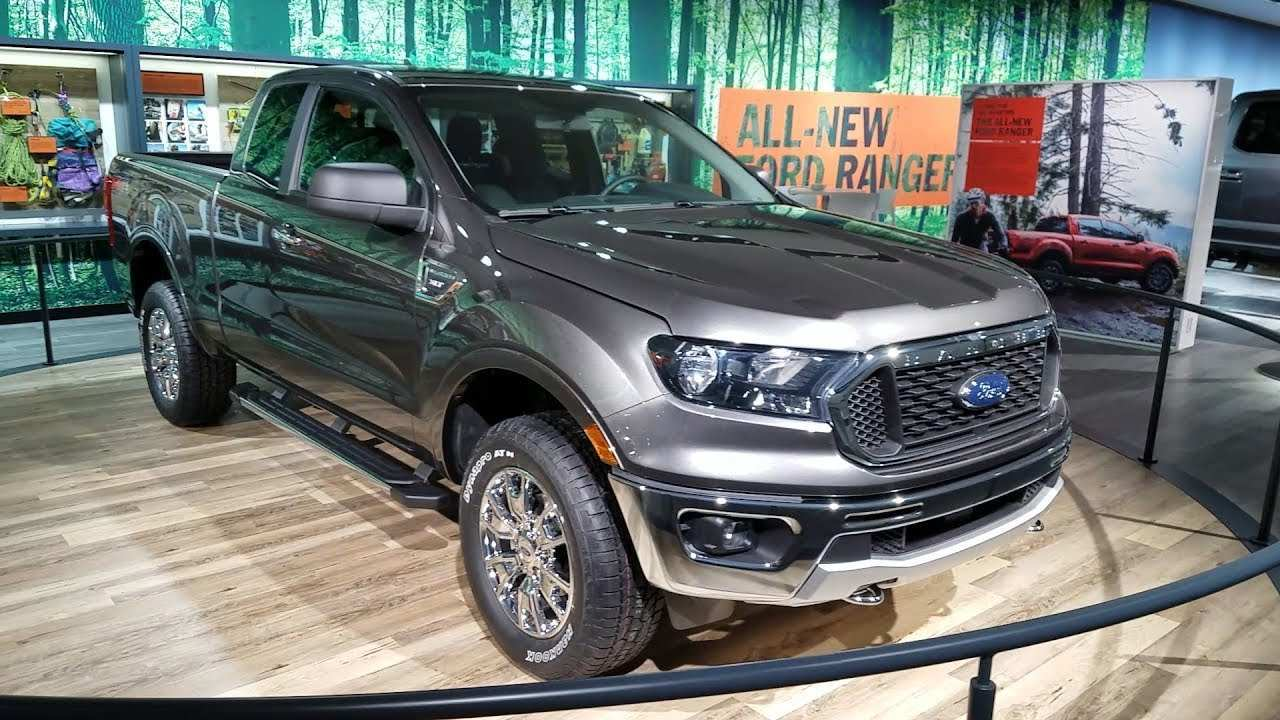 89 A 2019 Ford Ranger Auto Show Speed Test