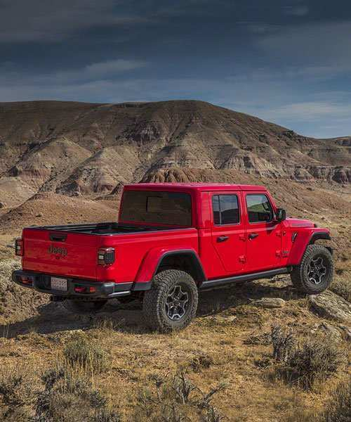 89 A 2020 Jeep Wrangler Pickup Truck Spesification