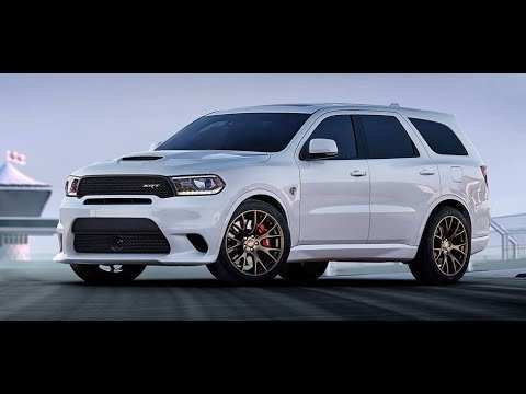 89 A Dodge Durango Srt 2020 Spy Shoot