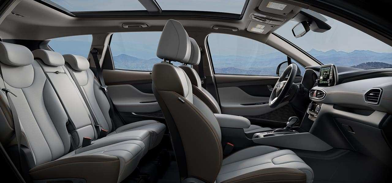 89 All New 2019 Hyundai Santa Fe Interior Interior