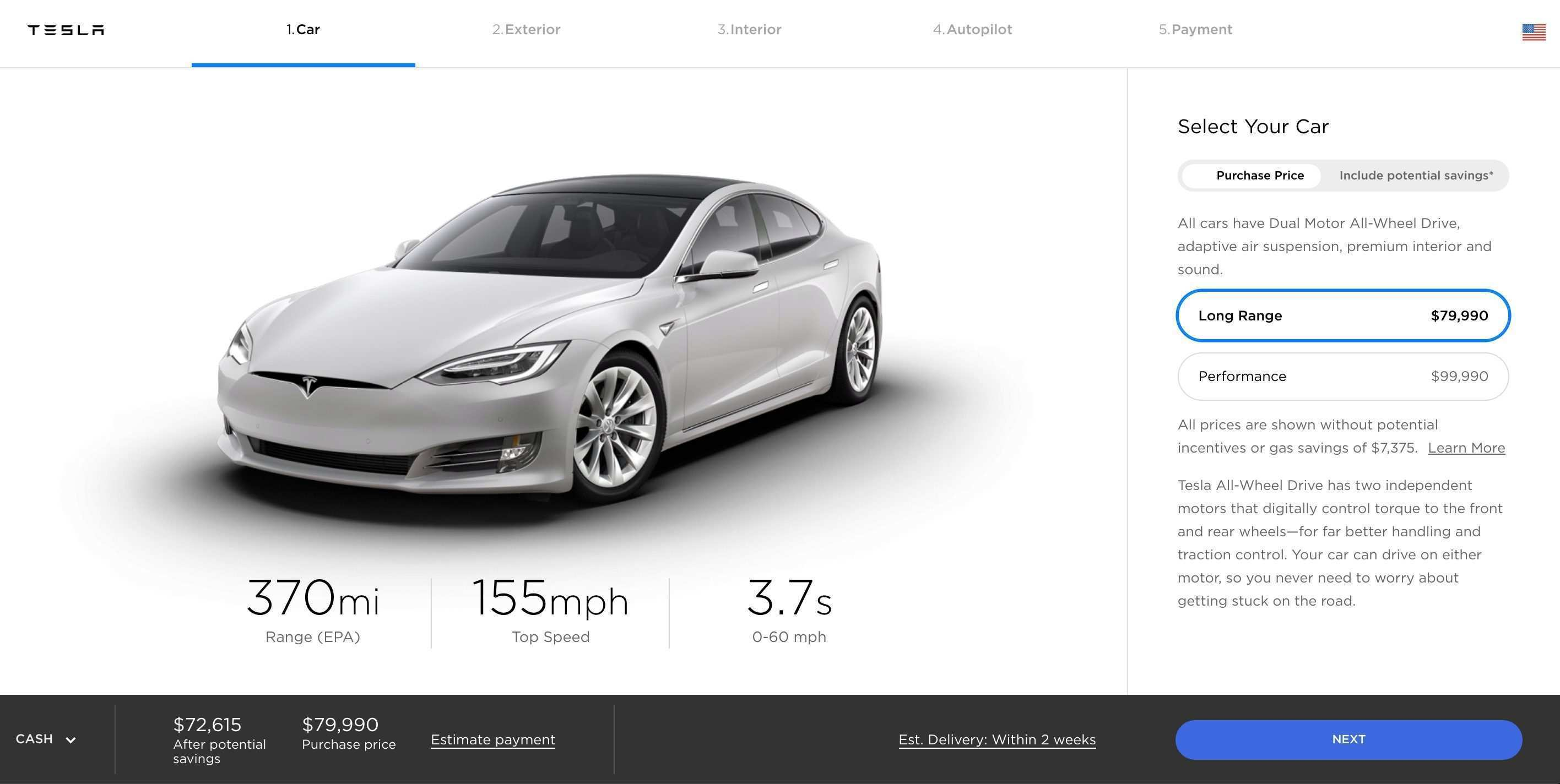 89 All New Tesla 2019 Options Release