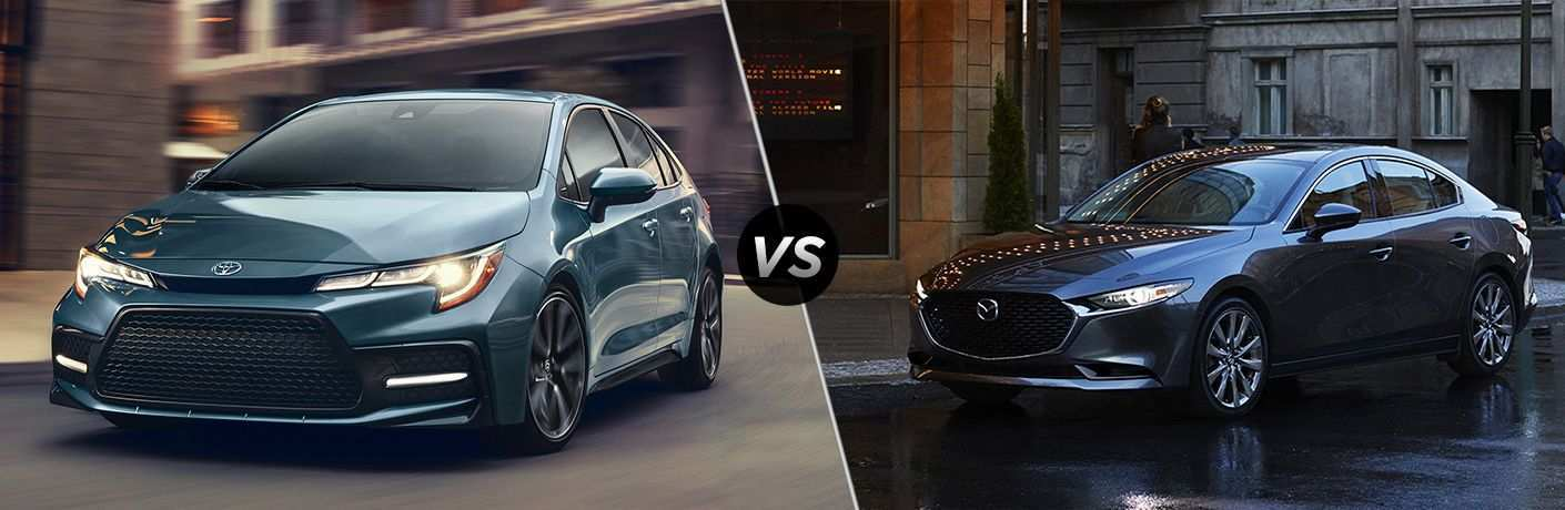 89 The Corolla 2020 Vs Mazda 3 Exterior