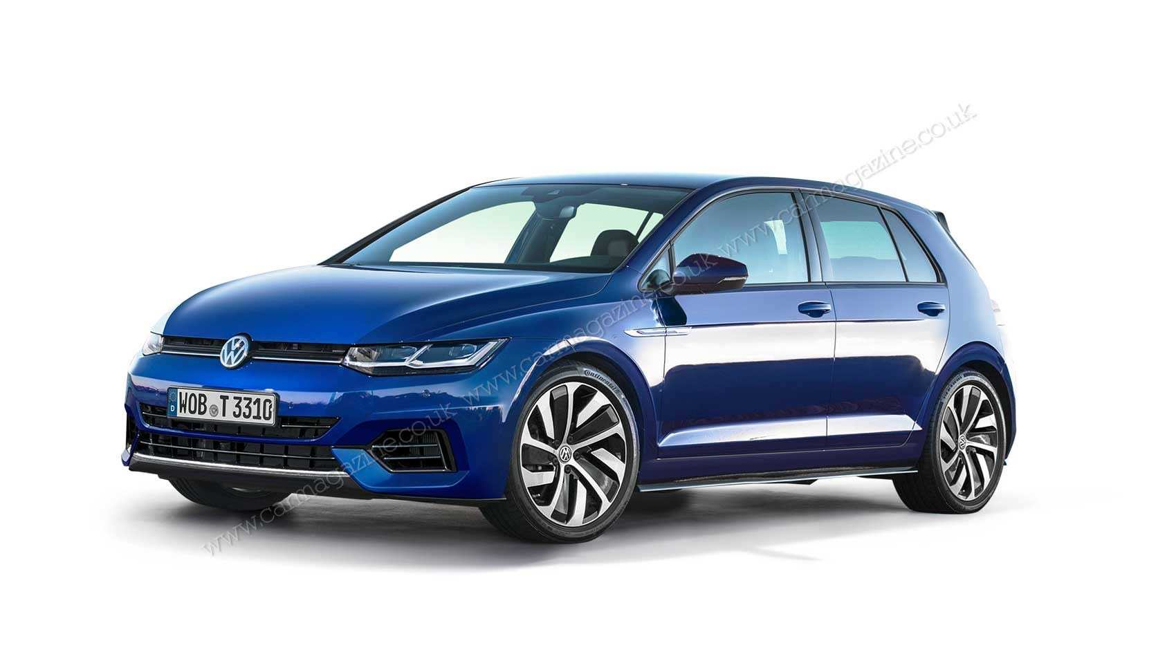 90 The Volkswagen Golf Gtd 2020 New Review