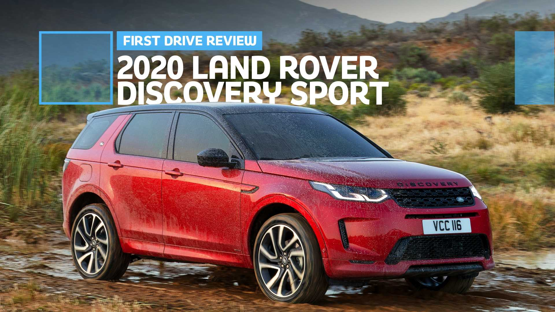 91 A 2020 Land Rover Discovery Sport Style