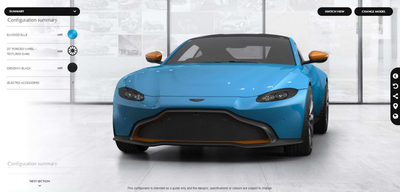 92 All New 2019 Aston Martin Vantage Configurator Pictures