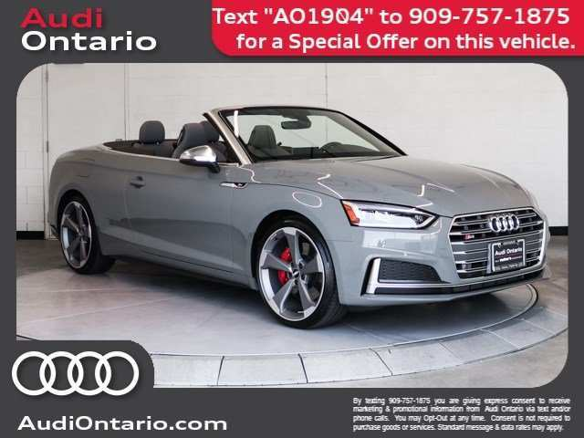 92 The 2019 Audi S5 Cabriolet Pricing