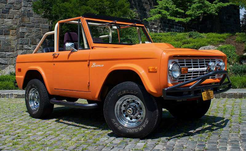 93 All New 2020 Orange Ford Bronco New Concept