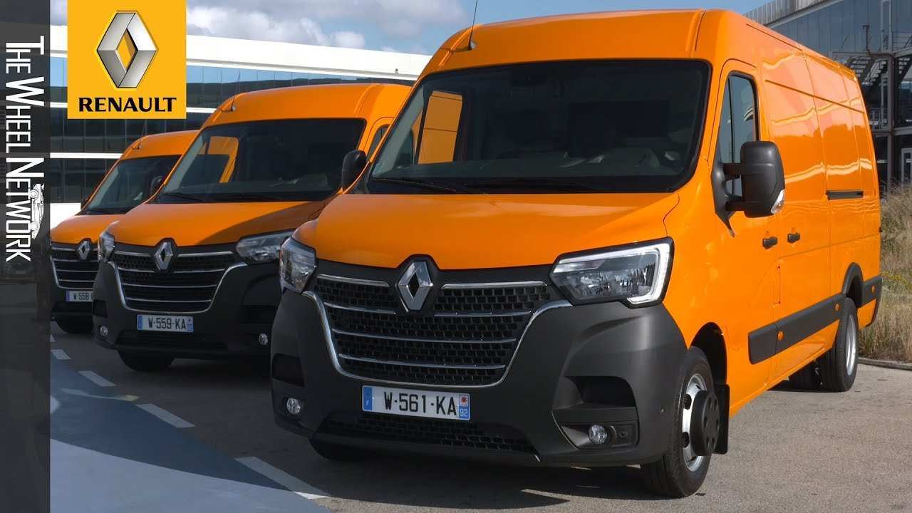 94 A Renault Master 2020 First Drive