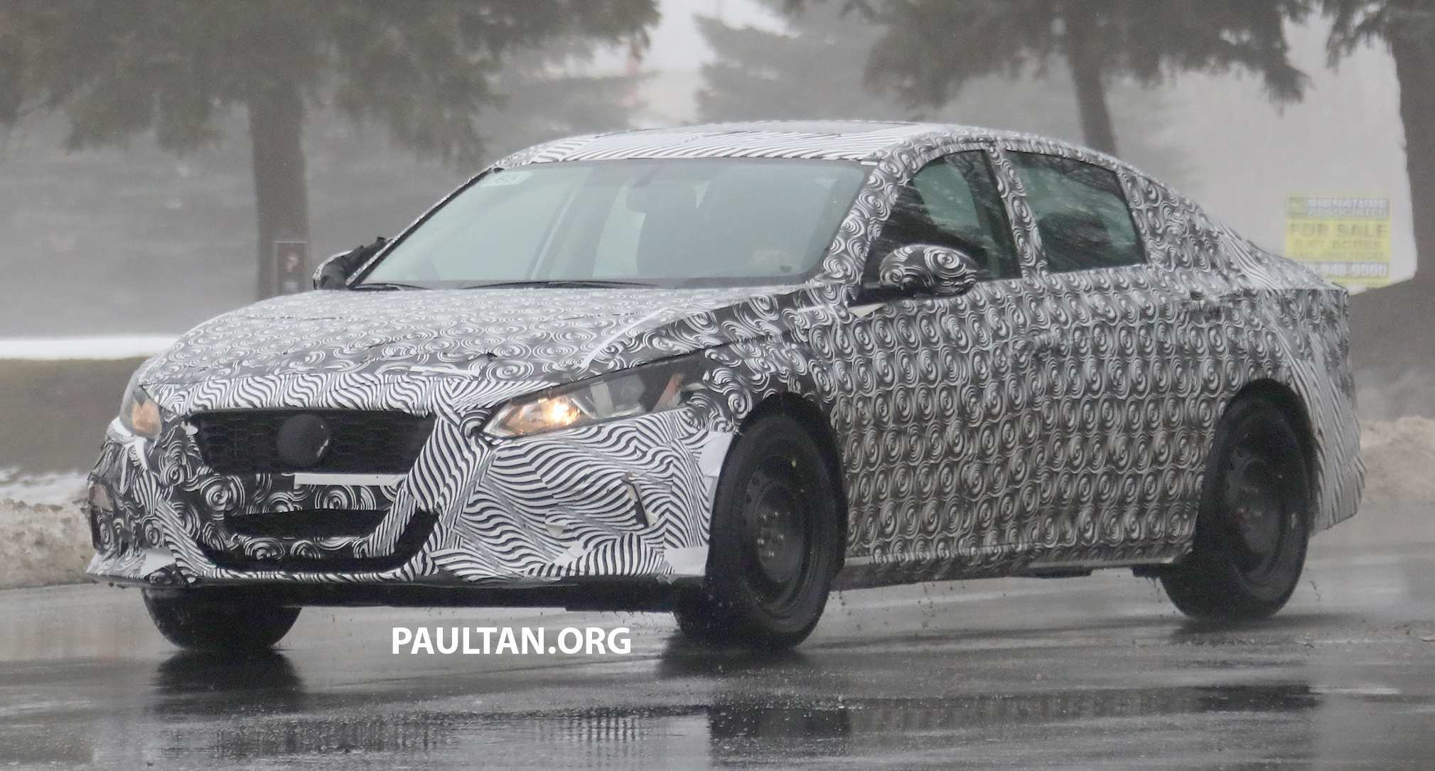 94 All New 2019 Nissan Altima Spy Shots Release