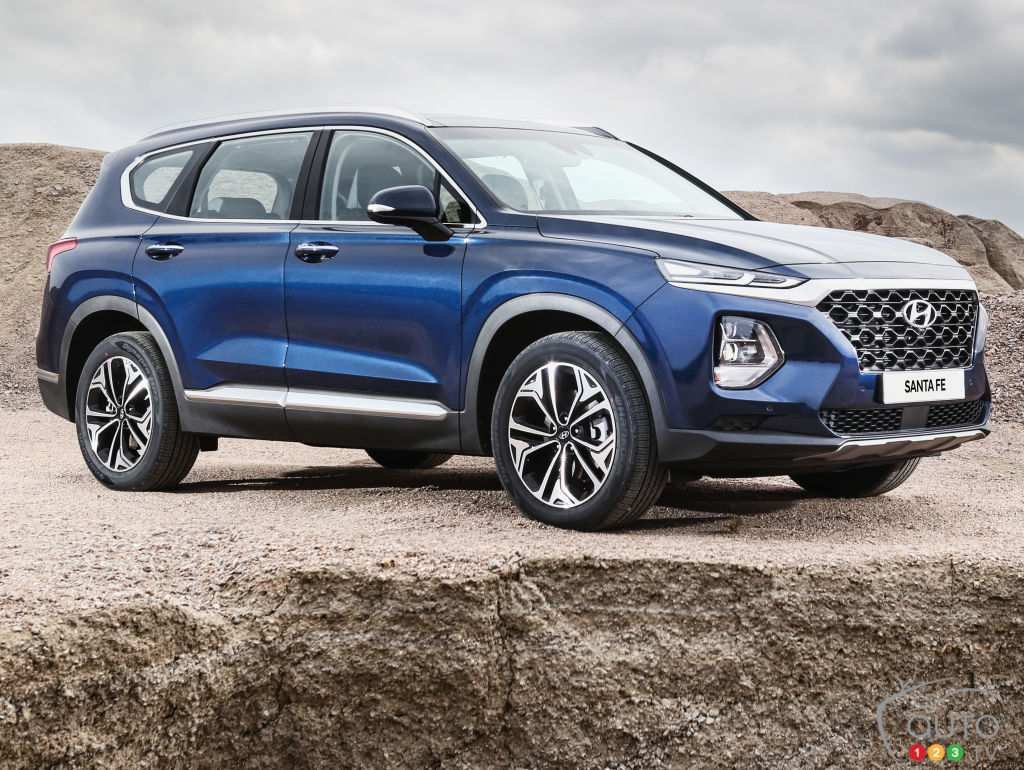 95 New 2019 Hyundai Santa Fe Launch Price And Review
