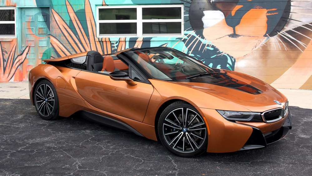 96 A 2019 Bmw I8 Roadster Photos