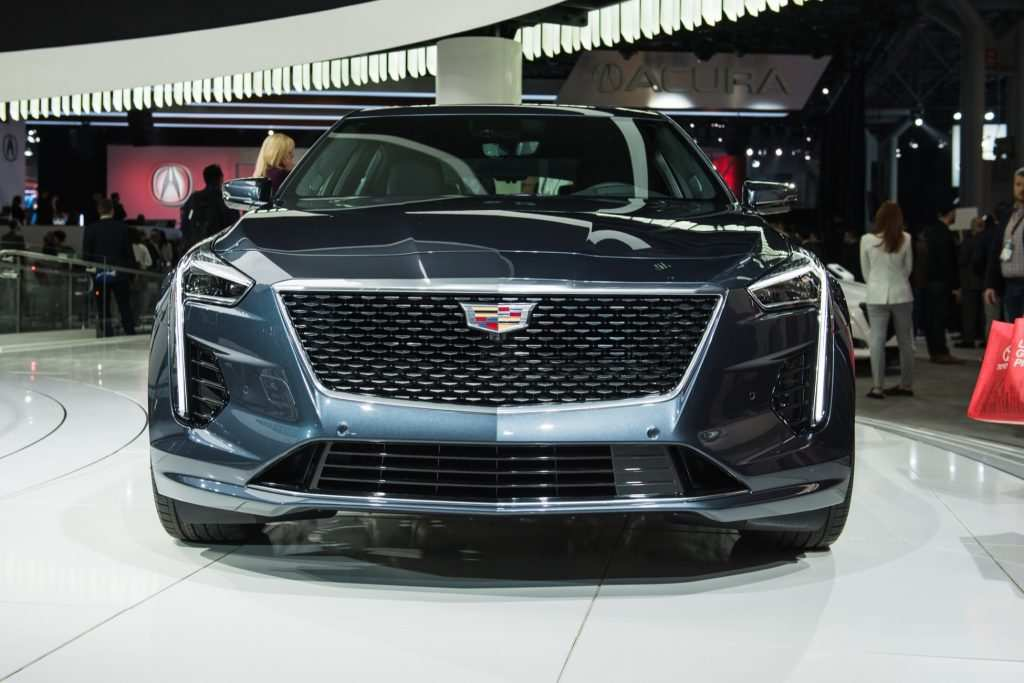96 A 2019 Cadillac Lineup Spy Shoot