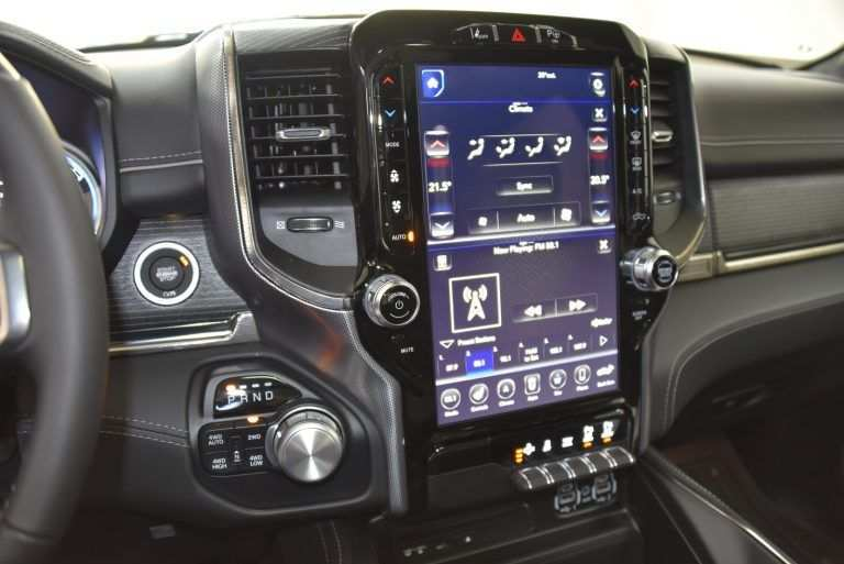 96 A 2019 Dodge Touch Screen Price And Release Date