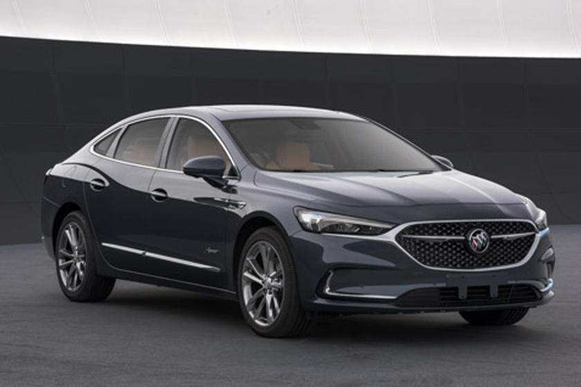 96 A 2020 Buick Lacrosse Refresh History