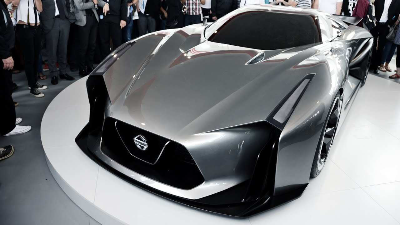 96 All New Nissan Concept 2020 Exterior