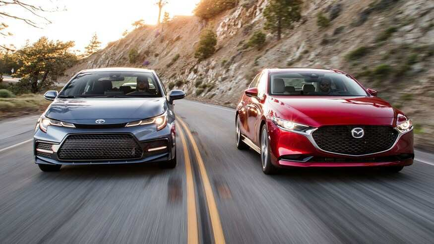 96 The Corolla 2020 Vs Mazda 3 Overview