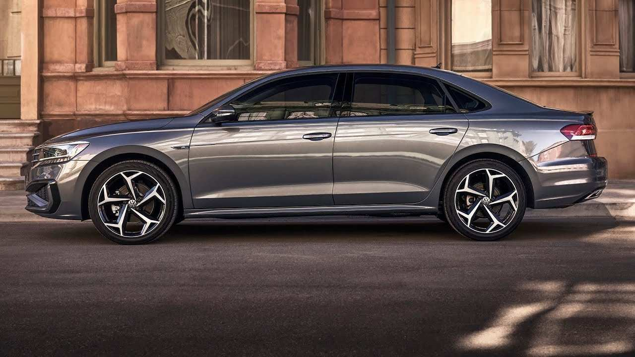 97 A Volkswagen Us Passat 2020 Spy Shoot