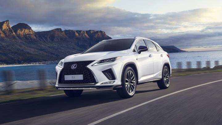 97 New Lexus Rx 450H Facelift 2020 Performance